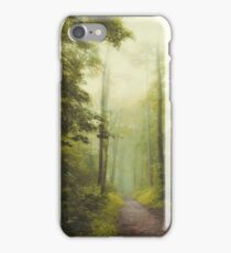 Long Forest Walk iPhone Case/Skin
