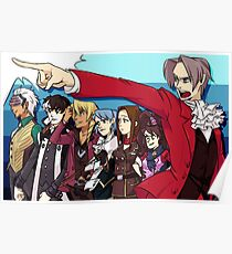 Ace Attorney Prosecution Poster