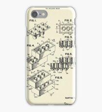 Lego Toy Building Brick-1961 iPhone Case/Skin