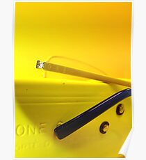 one yellow Poster