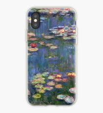 1916-Claude Monet-Waterlilies-200 x 200 iPhone Case