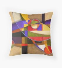 Shades of Kandinsky Throw Pillow
