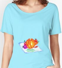 Collection of Vegetables Women's Relaxed Fit T-Shirt