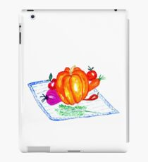 Collection of Vegetables iPad Case/Skin