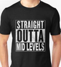 Straight Outta Mid Levels, Hong Kong T-Shirt