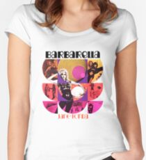 Barbarella - cult movie 1969 Women's Fitted Scoop T-Shirt