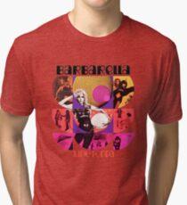 Barbarella - cult movie 1969 Tri-blend T-Shirt