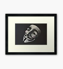 V is for Vendetta Framed Print