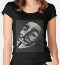 V is for Vendetta Women's Fitted Scoop T-Shirt