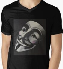 V is for Vendetta Men's V-Neck T-Shirt