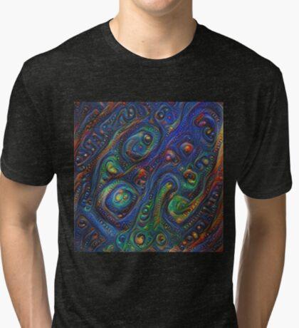 Summer night #DeepDream A Tri-blend T-Shirt