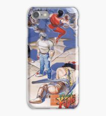 Final Fight Classic Box art iPhone Case/Skin