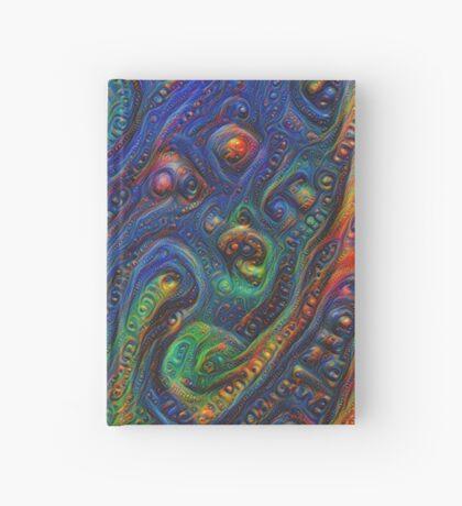 Summer night #DeepDream A Hardcover Journal
