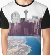 Earth City Graphic T-Shirt