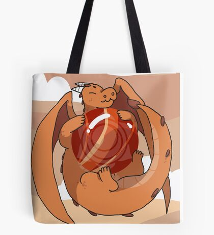 Red Jasper Dragon Tote Bag