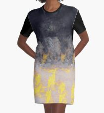 abstract 9,16 Graphic T-Shirt Dress
