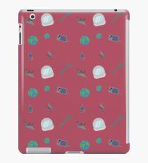 Raven Reyes Muster iPad-Hülle & Klebefolie