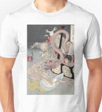Pandoras Box - Yoshitoshi Taiso - 1880 - woodcut T-Shirt