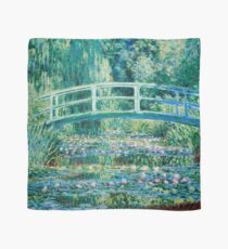 1899-Claude Monet-Water Lilies and Japanese Bridge Scarf