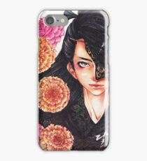 the cursed flowers. iPhone Case/Skin