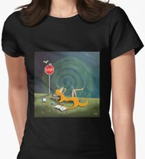 Kazart Phoebe – The Lull Womens Fitted T-Shirt