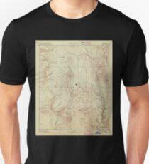 USGS TOPO Map Arizona AZ Prescott 315584 1892 250000 T-Shirt