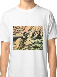 Egyptian Queen Cleopatra reclining on her bed Classic T-Shirt