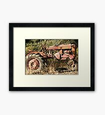 Still Working; Atascadero, CA Lei Hedger Photography Framed Print