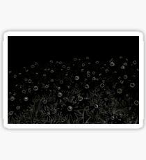 Flowers   Pop Art   Flowers at Midnight   Flower   Sticker