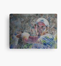 Andy Murray - Portrait 6 Canvas Print