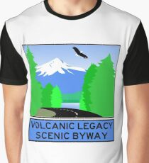 VOLCANIC LEGACY SCENIC BYWAY Graphic T-Shirt