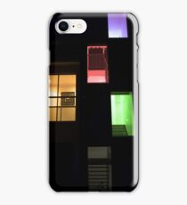 Coloured House iPhone Case/Skin