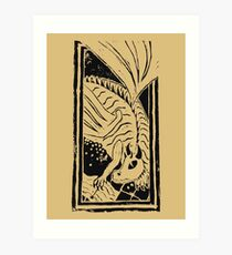 Dragon Hoard Art Print