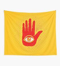 Hand und Auge Wandbehang