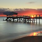 Sunrise at Sullivan Bay - Sorrento by Jim Worrall