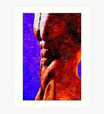 Shadowed Torso (Original Sold - limited edition 2 of 50 available) Art Print