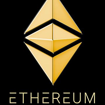 Ethereum Classic simple (gold) by andrasbalogh