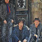 SHAM 69 (Parsons, Pursey, Treganna) by John O'Connor
