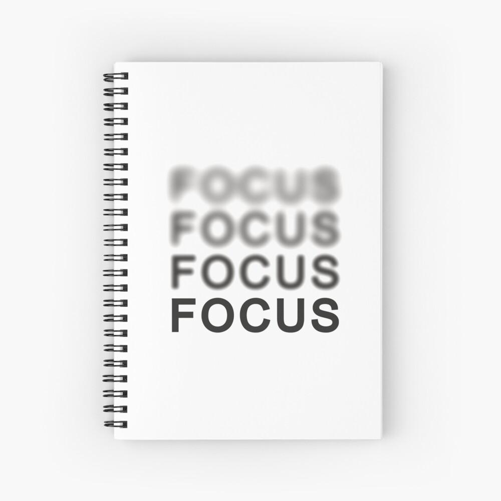 Focus Spiral Notebook