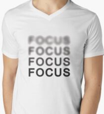 Focus Men's V-Neck T-Shirt