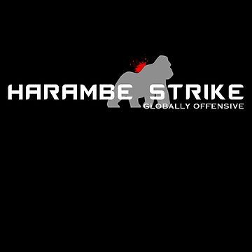 Harambe Strike by glrdokia