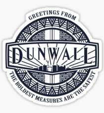 Greetings from Dunwall (dark) Sticker
