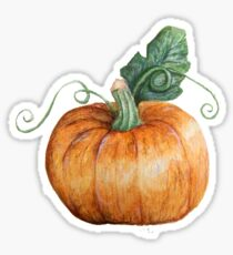 Hallowe'en Pumpkin Spice Sticker