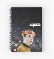pavel chekov Spiral Notebook
