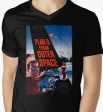 PLAN 9 from Outer Space Mens V-Neck T-Shirt