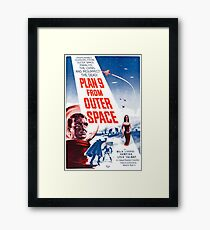 PLAN 9 from Outer Space Framed Print