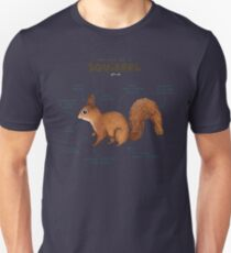 Anatomy of a Squirrel Unisex T-Shirt