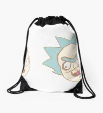 Rick n Morty Chibis Drawstring Bag