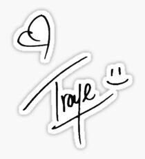 Troye Sivan Signature Sticker