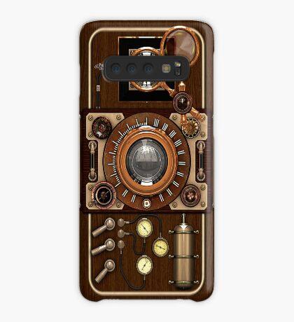 Stylish Steampunk Vintage Camera (TLR) No.1 Steampunk Phone Cases Case/Skin for Samsung Galaxy